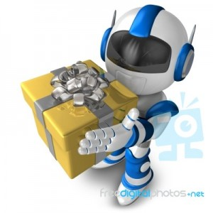 robot-character-holding-a-gift-3d-robot-character-100168083