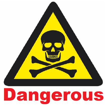 Dangerous logo